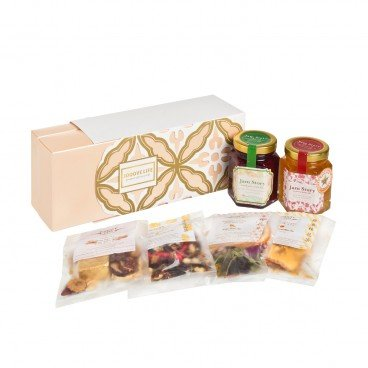JAM STORY Maf Gift Set Set B jam fruit Tea SET