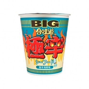 NISSIN - Big Cup Noodle extra Spicy Seafood - 100G
