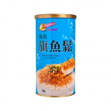 MOM'S KITCHEN Fried Sailfish Floss With Seaweed 200G