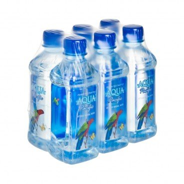 AQUA PACIFIC Natural Mineral Water 330MLX6