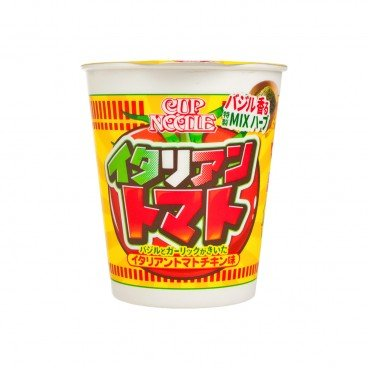 NISSIN - Big Cup Noodle italian Tomato Chicken - 82G