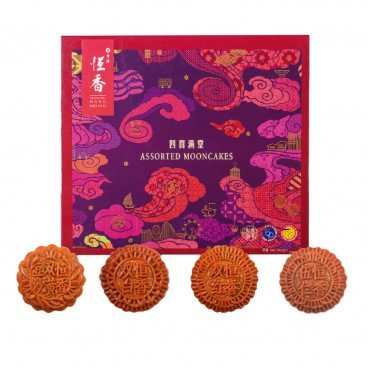 HANG HEUNG Assorted Mooncakes 4'S