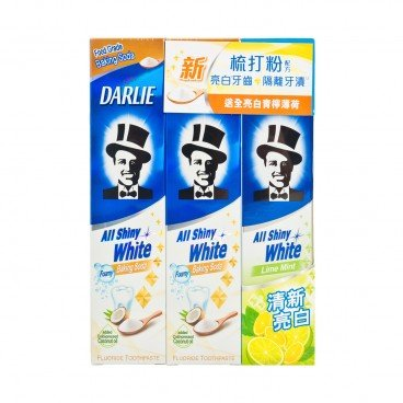 DARLIE - All Shiny White Baking Soda - 140GX2+80G