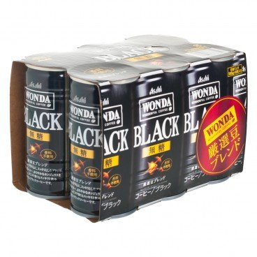ASAHI - Wonda Kiwami Black Coffee - 185GX6