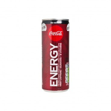 COCA-COLA (PARALLEL IMPORT) - No Sugar Energy Drink - 250ML