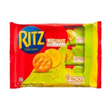 RITZ - Lemon Sand Tray - 243G
