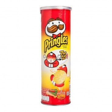 PRINGLES Chips taokaenoi Seaweed hot And Spicy 107G