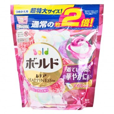 BOLD - 3 d Foral Laundry Gelball Pink Refill - 34'S