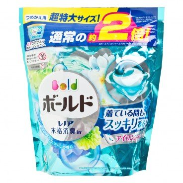 BOLD - 3 d Foral Laundry Gelball Blue Refill - 34'S