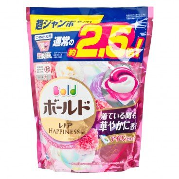 BOLD - 3 d Floral Laundry Gelball Pink 44 pc Refill - 44'S