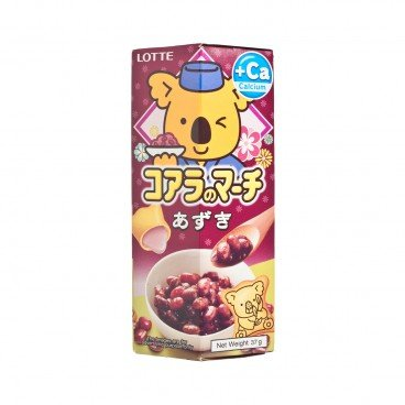 LOTTE - Koalas March Red Beans - 37G