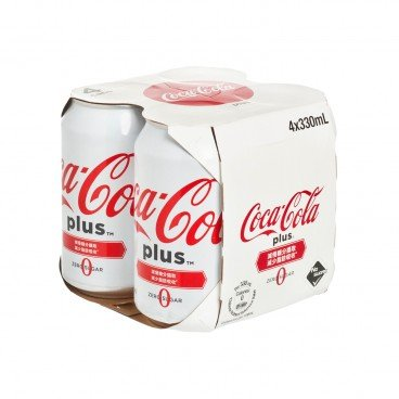 COCA-COLA - Coke Plus - 330MLX4