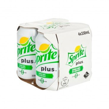 SPRITE - Plus lemon lime Flavoured Soda - 330MLX4