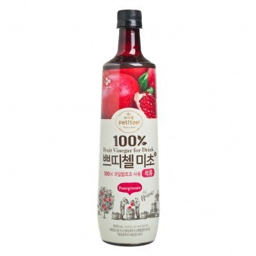 CJ - 100 Fruit Vinegar For Drink Pomegranate - 900ML