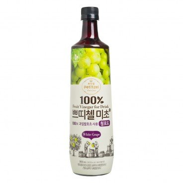 CJ - 100 Fruit Vinegar For Drink White Grape - 900ML