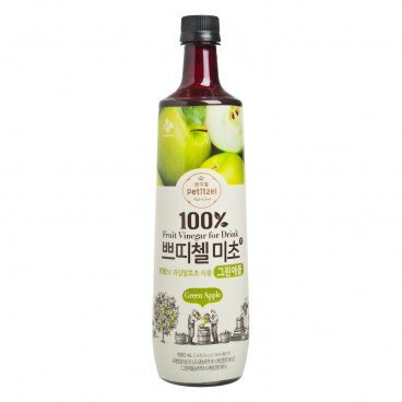 CJ - 100 Fruit Vinegar For Drink Green Apple - 900ML
