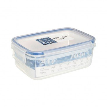 COOK & EAT - Rectangular Plastic Food Storage 900 ml - PC