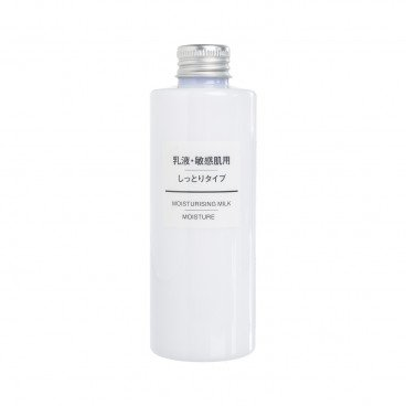 MUJI - Sensitive Skin Moisturising Milk Moisture - 200ML