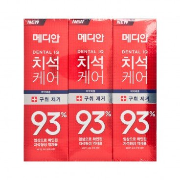 MEDIAN - Amore Pacific Median Dental Iq New 93 Toothpaste red - 120GX3