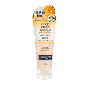 NEUTROGENA - Deep Clean Blackhead Eliminating Daily Scrub - 100G