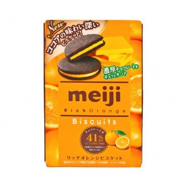 MEIJI Sandwich Cookies orange 6'S