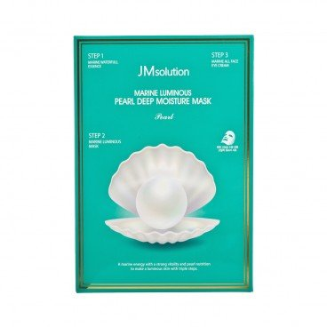 JM SOLUTION - Marine Luminous Pearl Deep Moisture Mask - 10'S