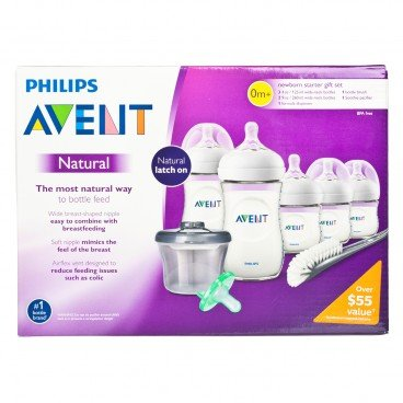 PHILIPS - Avent Natural Baby Bottle Newborn Starter Gift Set - SET
