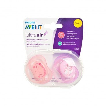 PHILIPS - Avent Ultra Air Pacifier 0 6 mth - 2'S