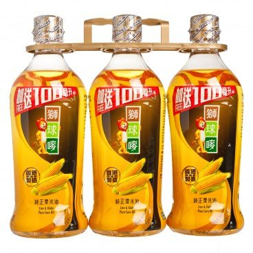 LION & GLOBE - Corn Oil Bonus Pack - 1LX3