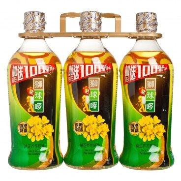 LION & GLOBE - Canola Oil Bonus Pack - 1LX3