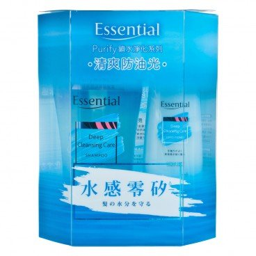 ESSENTIAL - Purify Deep Cleansing Care Value Pack - 700ML+200ML