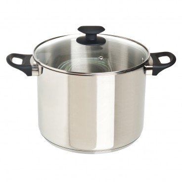 COOK & EAT - 24 cm Stainless Steel Stockpot With Lid - SET