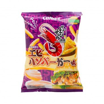 CALBEE - Prawn Crackers thousand Island Shrimp Burger - 75G