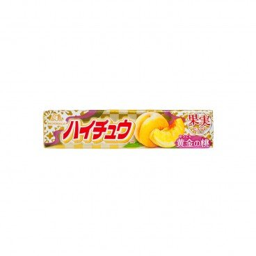MORINAGA - Hi chew Gummy Golden Peach - 12'S