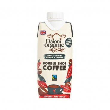 DAIONI ORGANIC - Organic Double Shot Coffee - 330ML