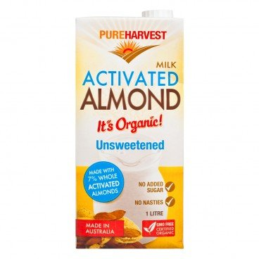 PUREHARVEST(PARALLEL IMPORT) - Almond Milk Unsweetened - 1L