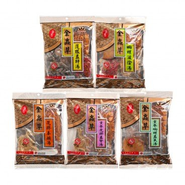 TREASURE-TREE - Cordyceps Flower Soup 5 pcs V 8 - 601G