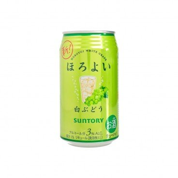 SUNTORY - Horoyoi Chuhai Drink white Grape - 350ML