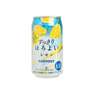SUNTORY - Horoyoi Chuhai Drink lemon - 350ML