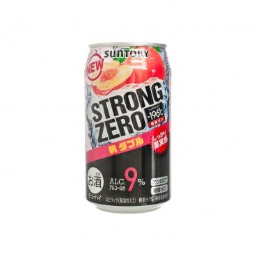 SUNTORY - Strong Zero w Peach - 350ML