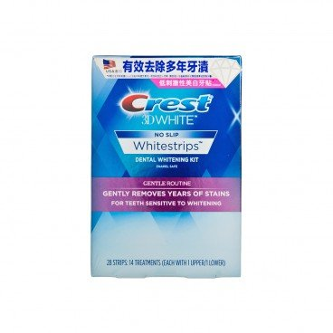 ORAL B - Crest Whitestrips Gentle Routine - 28'S