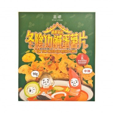 STAR CHEW - Tom Yum Salted Egg Crisps - 90G