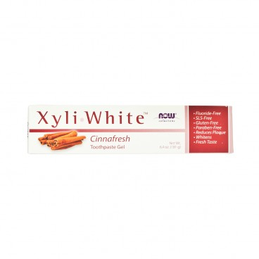 NOW FOODS - Xyliwhite Cinnafresh Toothpaste - 181G