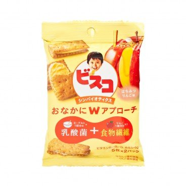 GLICO - Biscuits honey Apple Lactic Acid Bacteria - 10'S