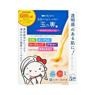 TOFU MORITAYA - Tofu Brightening Sheet Mask - 5'S