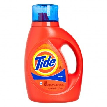 TIDE - Original Scent Liquid Laundry Detergent - 1.47L