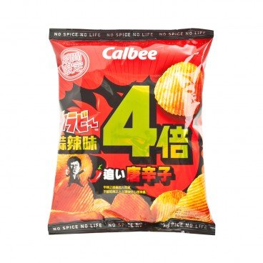 CALBEE - Potato Chips karabee 4 Times Spicy Garlic - 55G