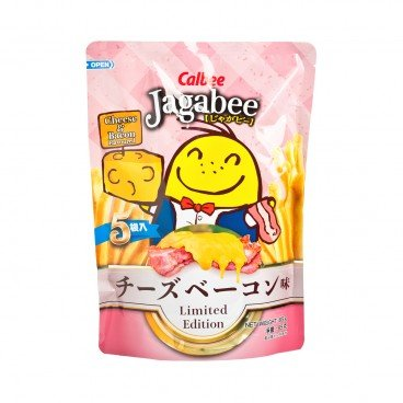 CALBEE - Jagabee Potato Chips cheese Bacon - 17GX5