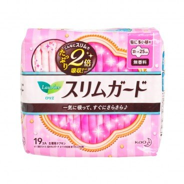 LAURIER(PARALLEL IMPORTED) - Ultra thin Dayily Sanitary Napkin 25 cm - 19'S
