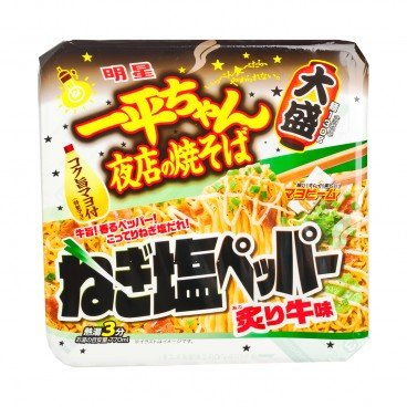 MYOJYO - Fried Noodle ippeichan green Onion Beef Flavor - 164G